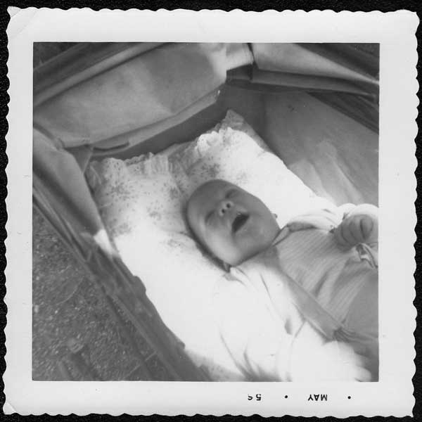 Peter Bartley Nordberg, about four months old